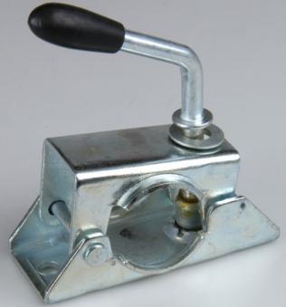 Klemmbügel für Abstellstütze & Stützrad 48 mm / Anhänger Zubehör