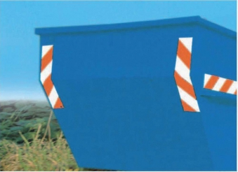 Containermarkierung 141x705mm 1.Satz magneti. Bild 1