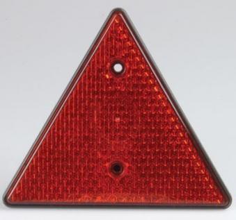 Dreiecksreflektor rot / Anhänger Zubehör / Beleuchtung Bild 1
