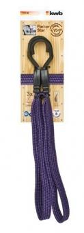 Gepäckarm / Spannband flach mit Haken 115 cm Bild 1