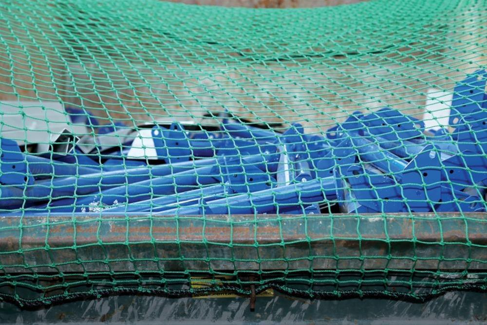 Gummiseil m. Drahthaken f. Netz 4x3, 15 m lang Bild 1
