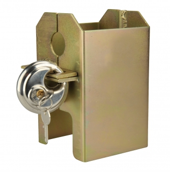 Kastensicherung klappbar Stahl verzinkt / Anhänger Zubehör Bild 1