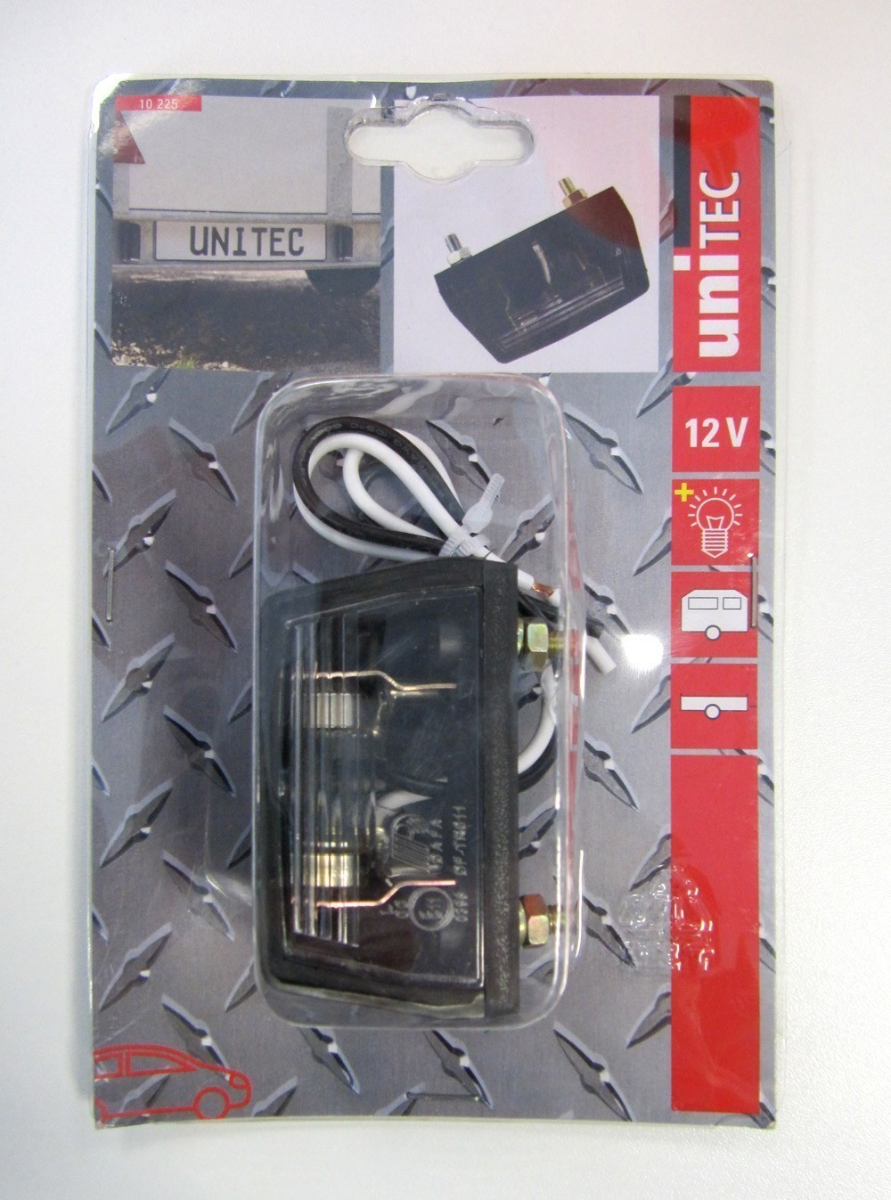 Kennzeichenbeleuchtung klein 12 V / Anhänger Zubehör / Beleuchtung Bild 1