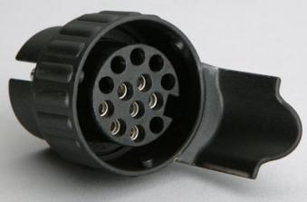 Mini Adapter / Kurz Adapter 7- auf 13-polig 12 V / Anhänger Zubehör Bild 1