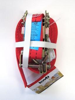 Spanngurt / Zurrgurt mit Ratsche und 2 Haken 35mmx6m 1000 kg  kwb Bild 1