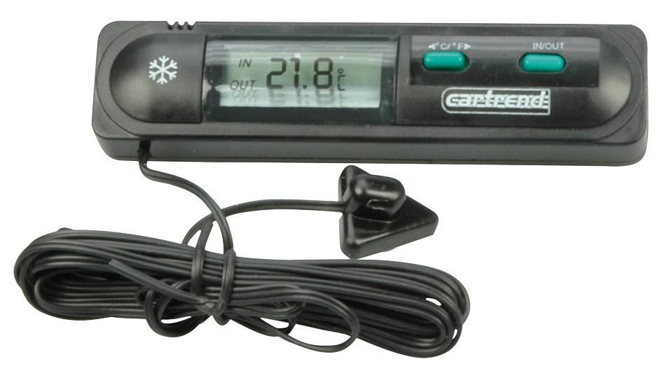 Innen und Außenthermometer mit LCD-Display Bild 1