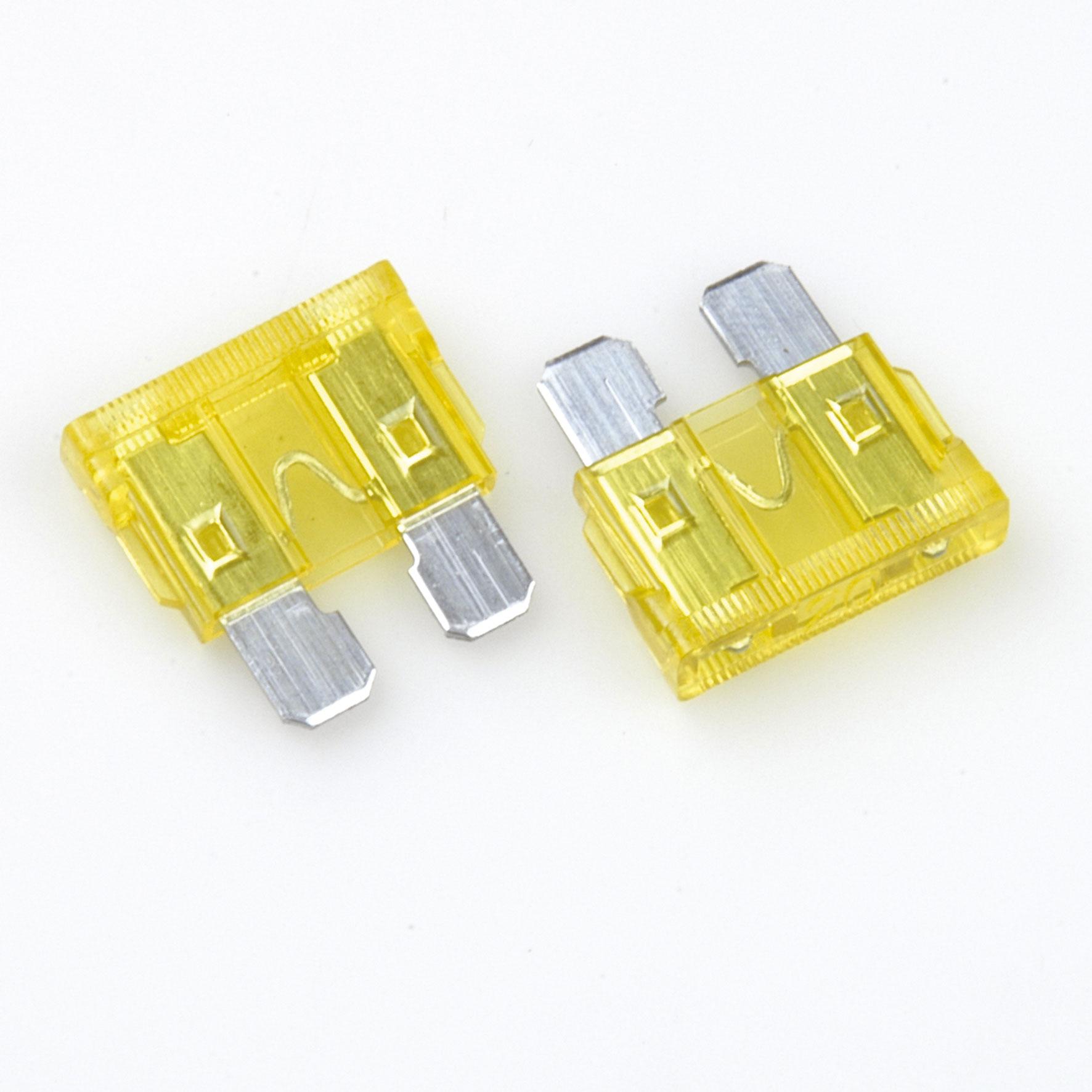 Unitec Flachstecker-Sicherung 20 Ampere 5 Stück Bild 1