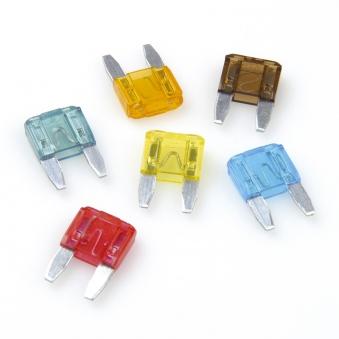 Unitec Mini-Sicherung / Flachstecksicherung 5-30 Ampere 6-teilig Bild 1