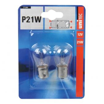 Kugellampe Unitec P21W 12V 2 Stück Bild 1