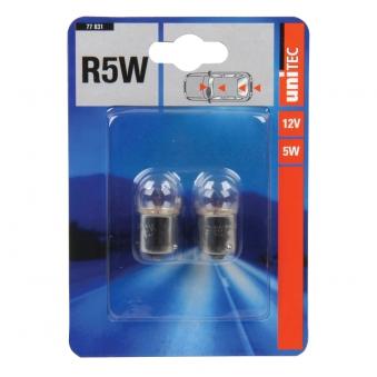 Kugellampe Unitec R5W 12V 2 Stück Bild 1