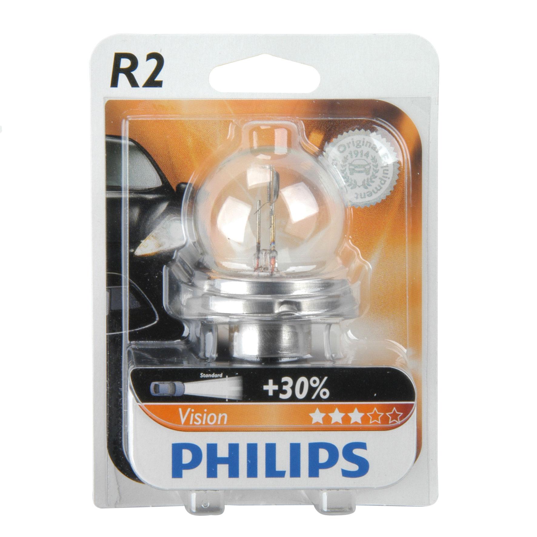 Philips Abblendlampe R2 12 Volt /  40/45 Watt - Autobeleuchtung Bild 1