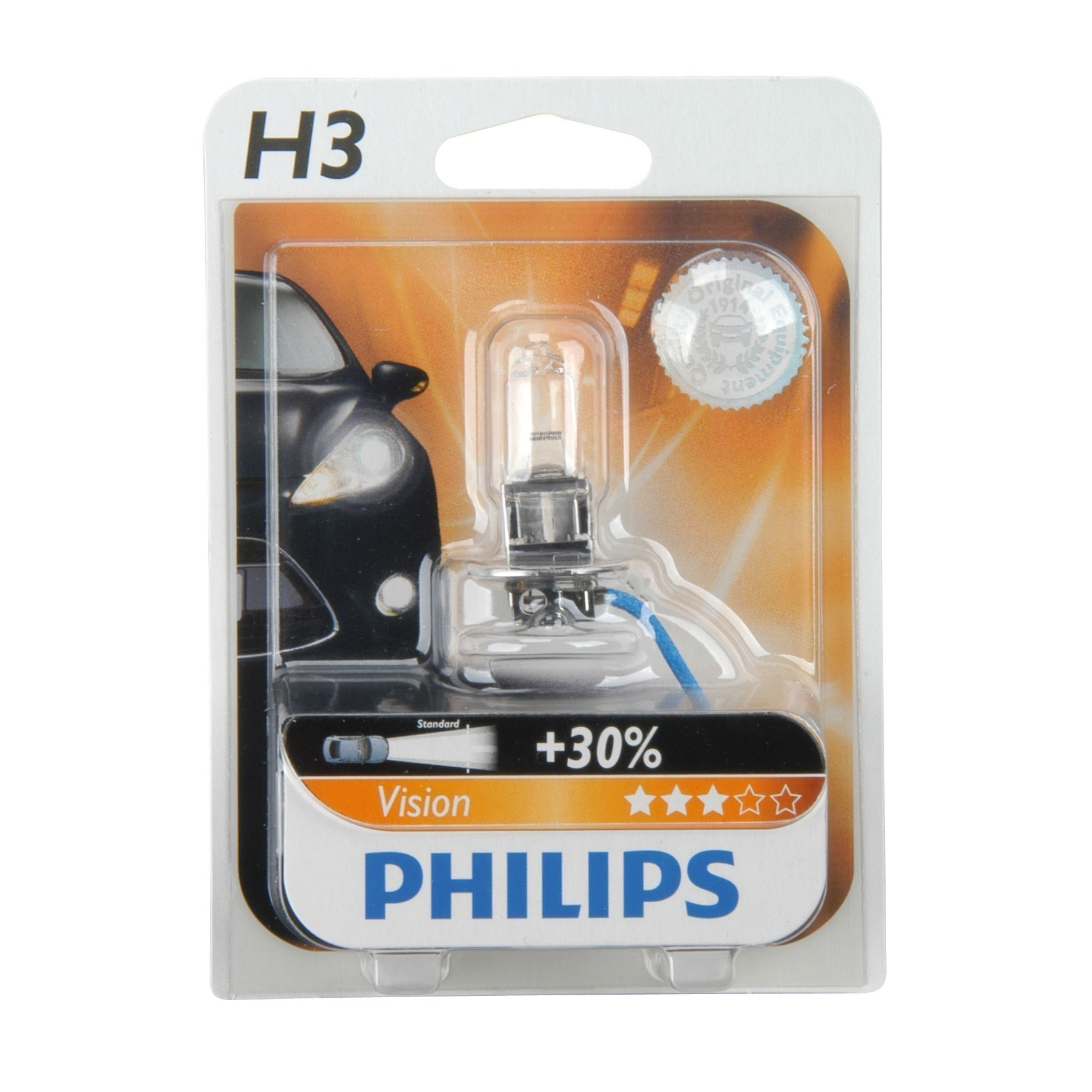 Philips Halogenlampe H3 12 Volt /  55 Watt - Autobeleuchtung Bild 1