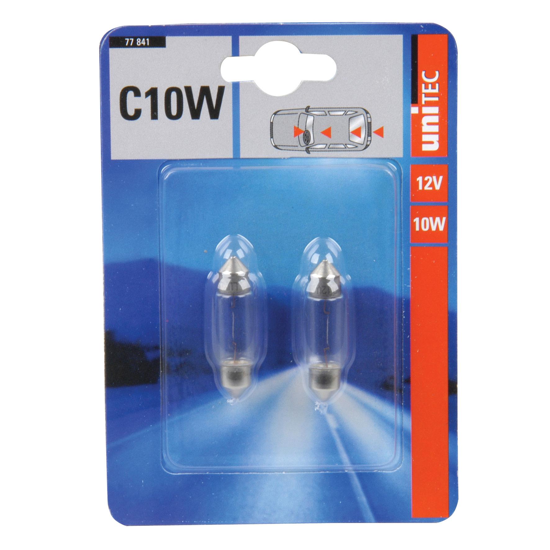 Soffittenlampe Unitec C10W 2 Stück Bild 1