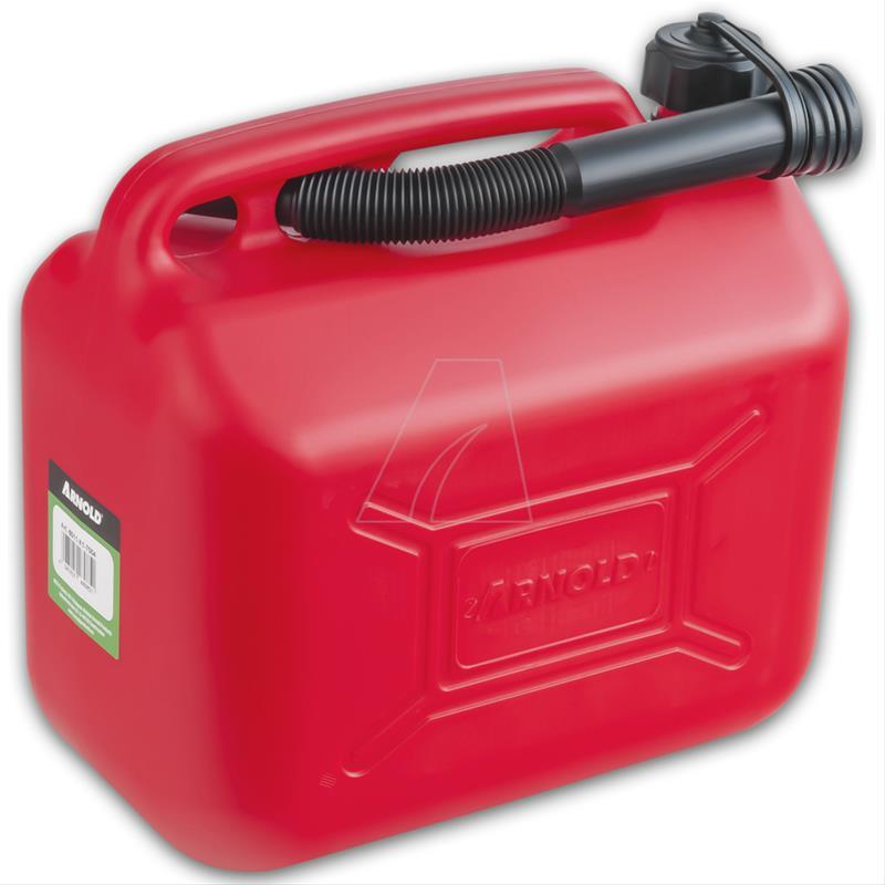 Kraftstoffkanister / Benzinkanister 10 Liter rot Bild 1