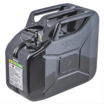 Metallkanister / Kraftstoffkanister 10 Liter schwarz Bild 1