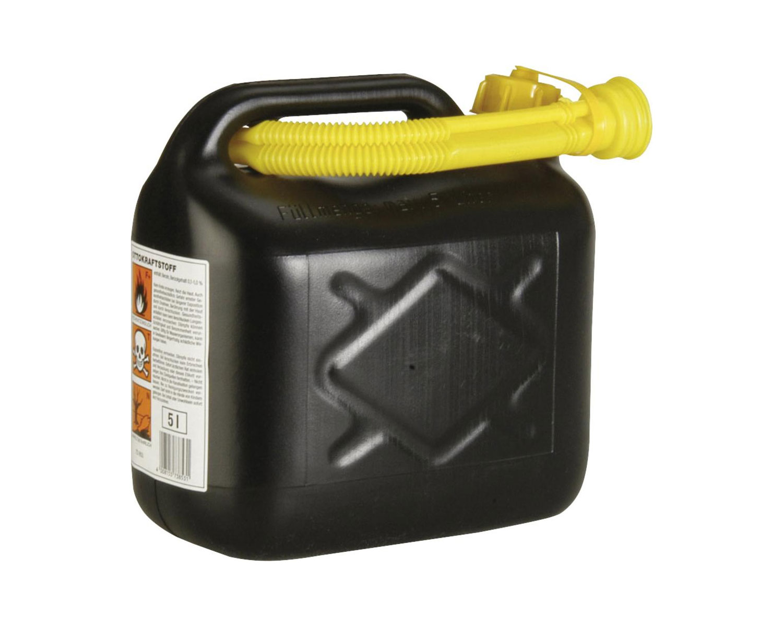 Unitec Benzinkanister Kunststoff 5 Liter Bild 1