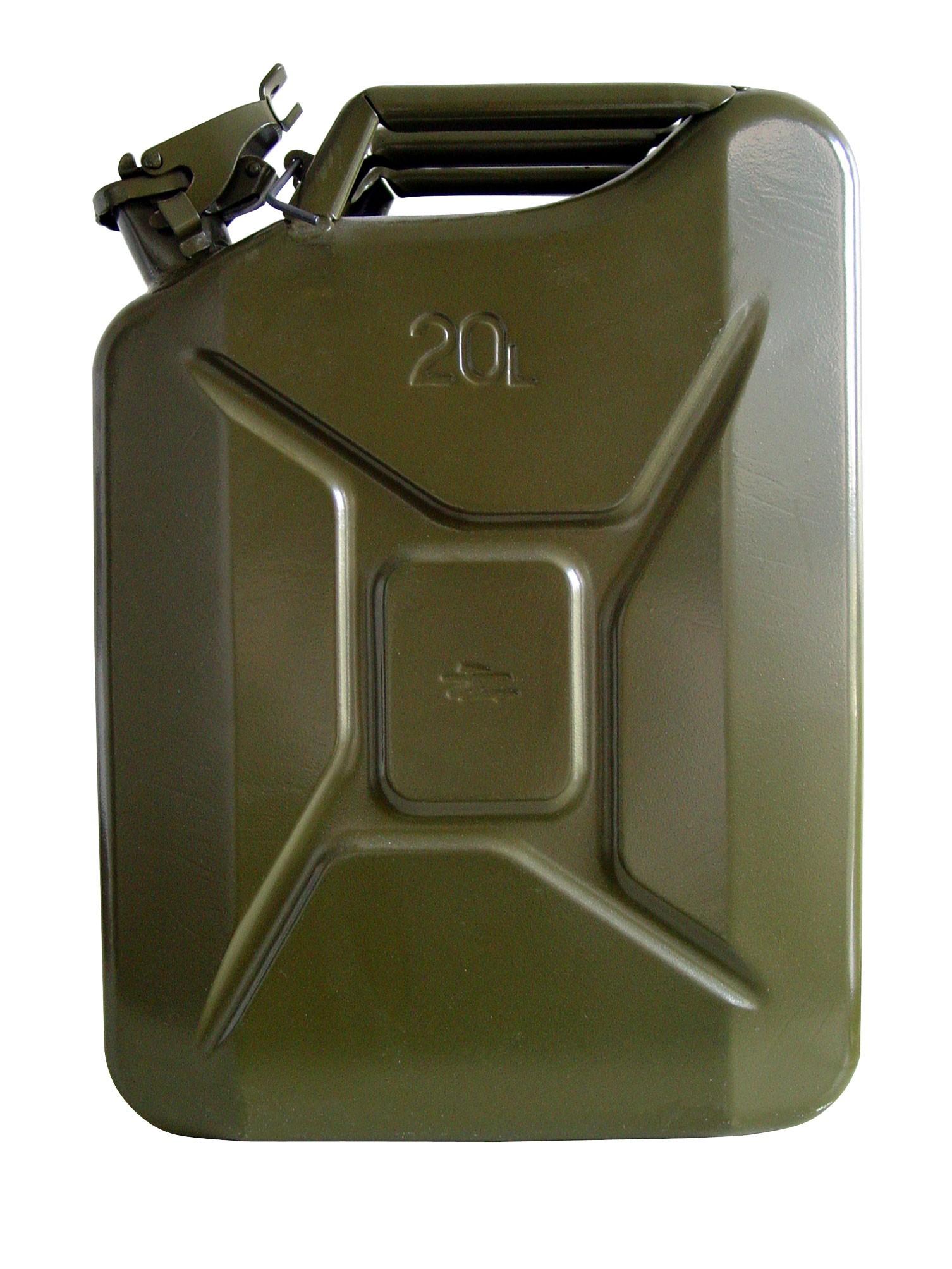 Unitec Benzinkanister / Stahlblechkanister 20 Liter Bild 1