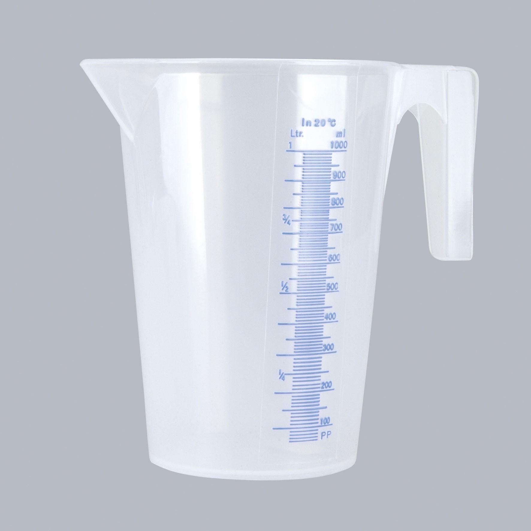Unitec Messbecher transparent 1 Liter Bild 1