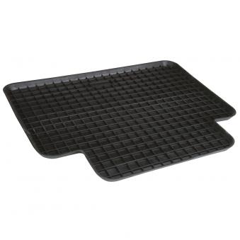 Unitec Auto Fußmatte / Schalenmatte hinten Gummi schwarz 46x40cm Bild 1