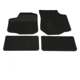 Unitec Autofußmatten / Autoteppich Velour 4-tlg. anthr./schwarz Gr. A Bild 1