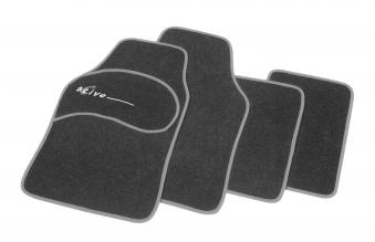 Unitec Automatten / Autoteppich Active Limited Edition 4-teilig anthr. Bild 1