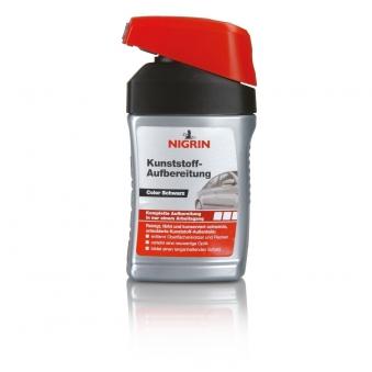 Nigrin Kunststoff-Aufbereitung schwarz 300ml Bild 1