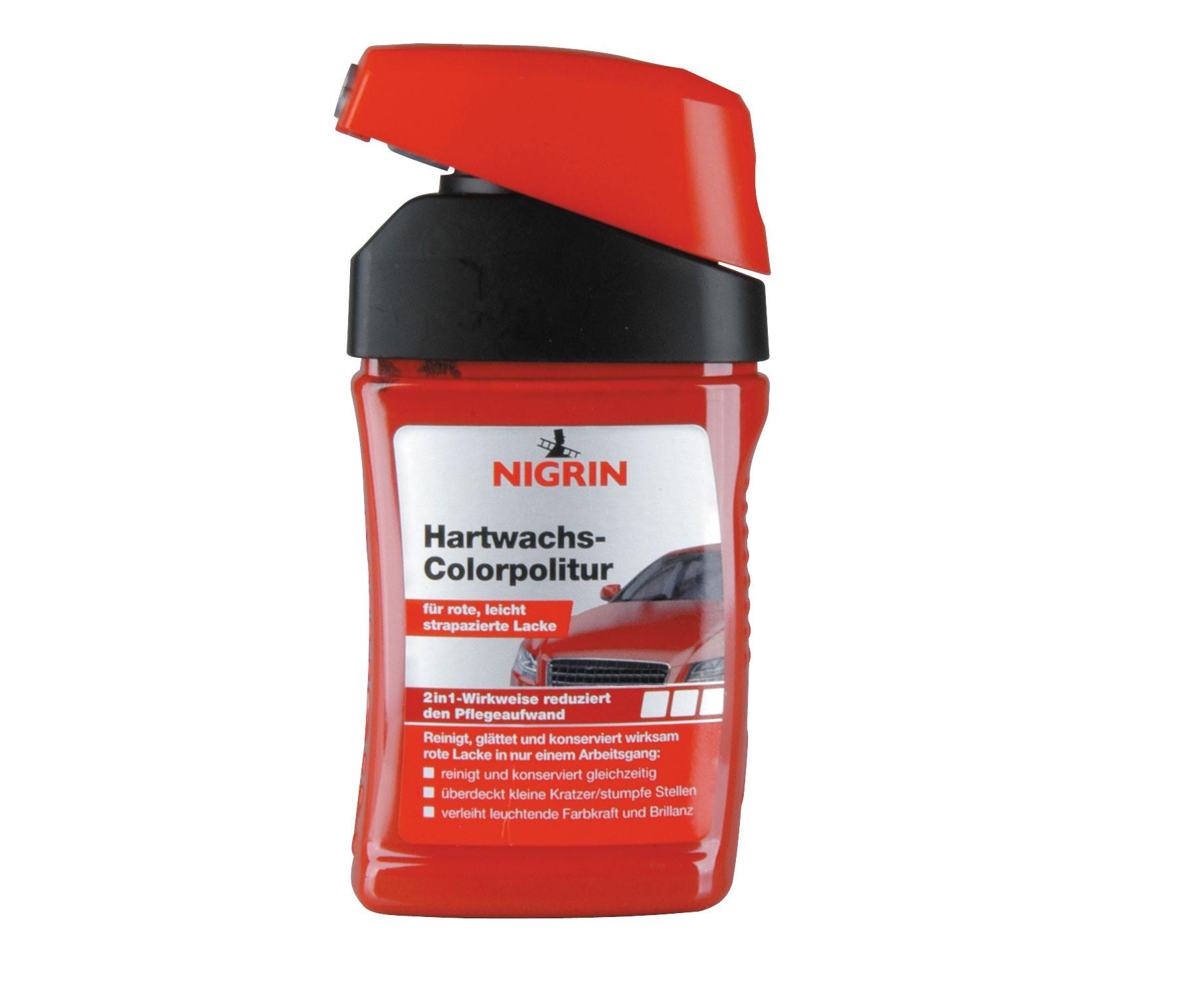 Nigrin Lackpflege Hartwachs-Colorpolitur rot 300ml Bild 1