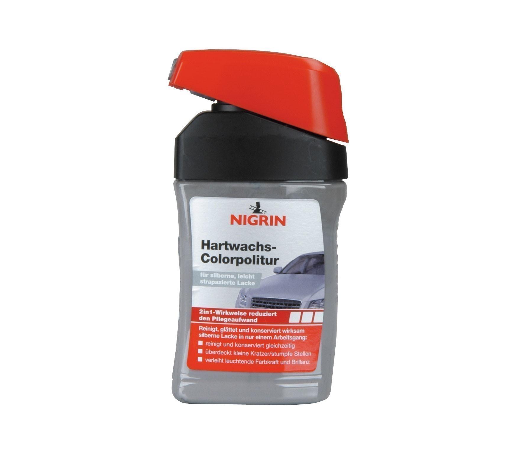 Nigrin Lackpflege Hartwachs-Colorpolitur silber 300ml Bild 1