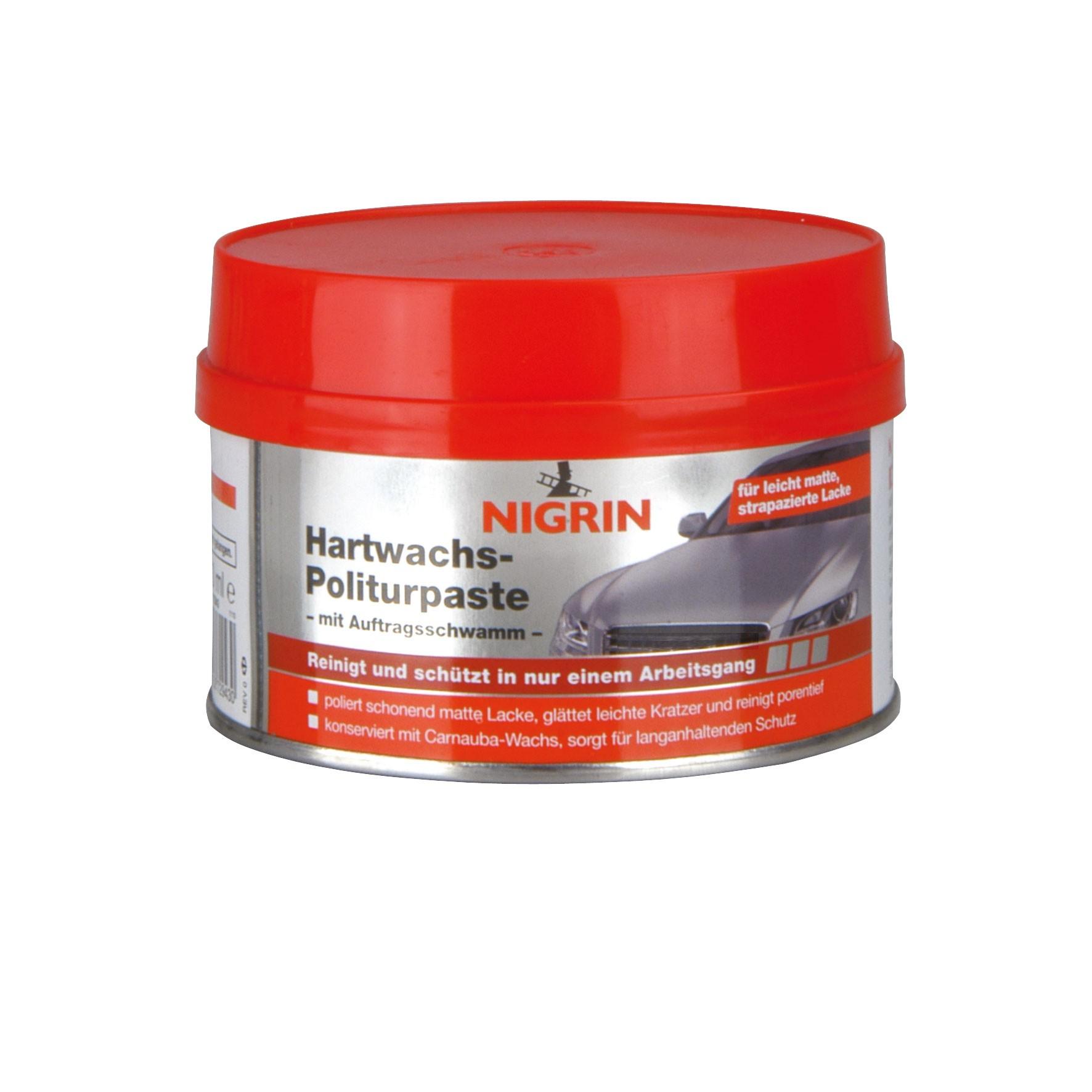 Nigrin Lackpflege Hartwachs-Politurpaste 250ml Bild 1