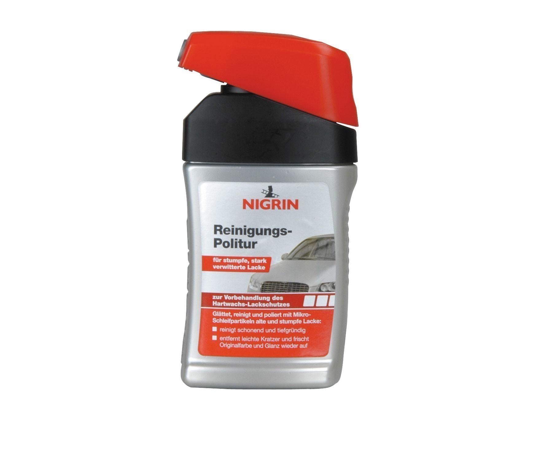 Nigrin Lackpflege Reinigungs-Politur 300ml Bild 1