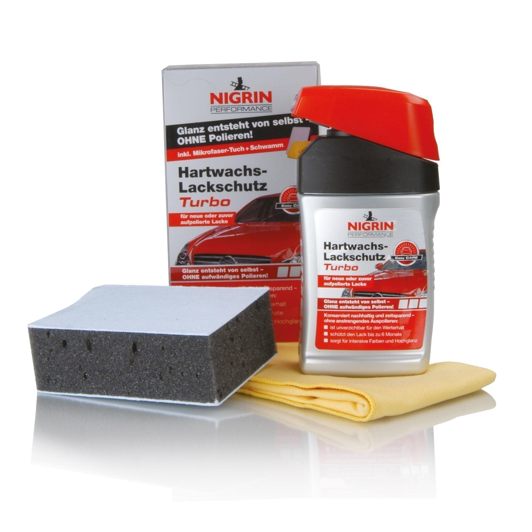 Nigrin Performance Hartwachs-Lackschutz Turbo 300ml Bild 1