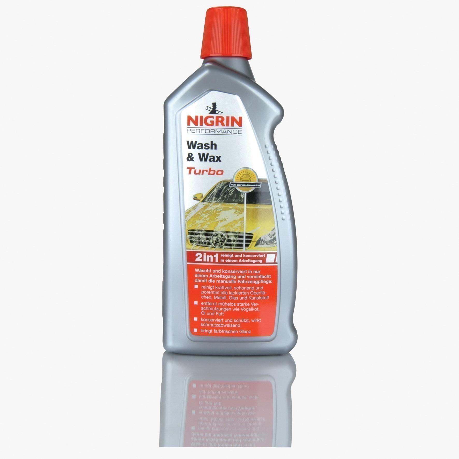 Nigrin Performance Wash & Wax Turbo 1 Liter Bild 1