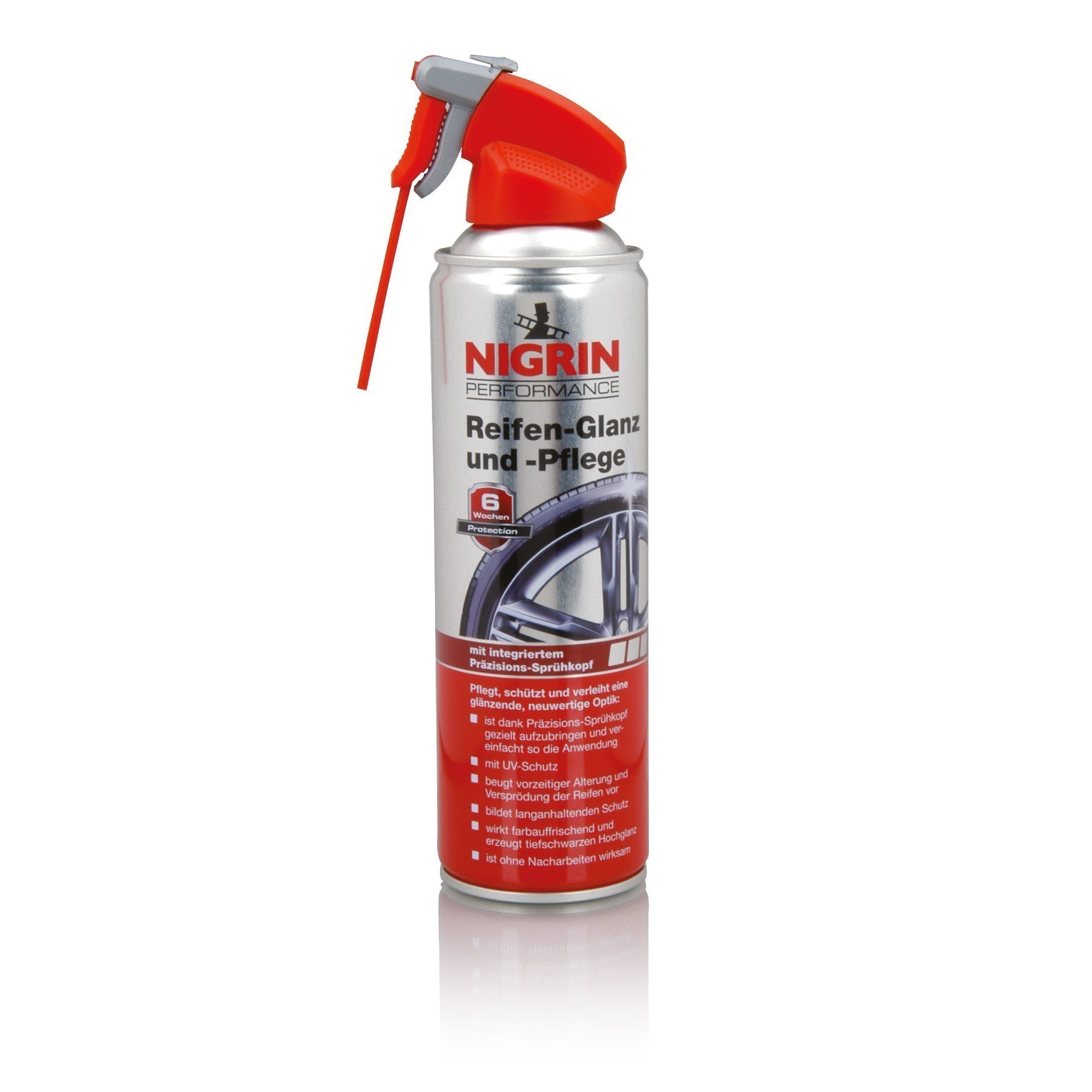 Nigrin Performance Reifen Glanz und Pflege 500ml Bild 1