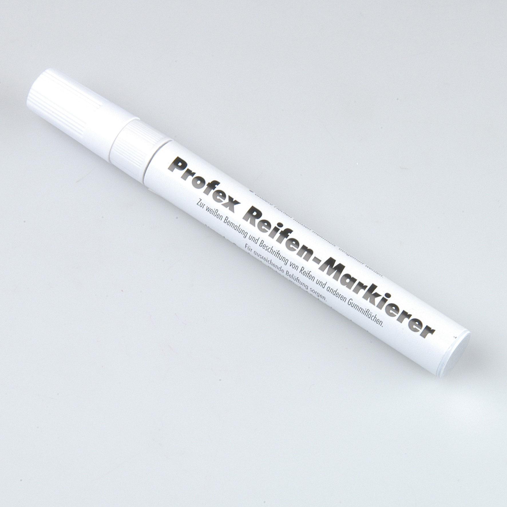 Unitec Reifen-Markierstift weiß Bild 1