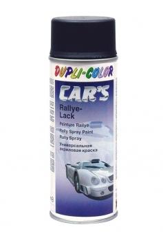 Lack Spray Dupli-Color Car´s Rallye-Lack schwarz matt 400 ml Bild 1
