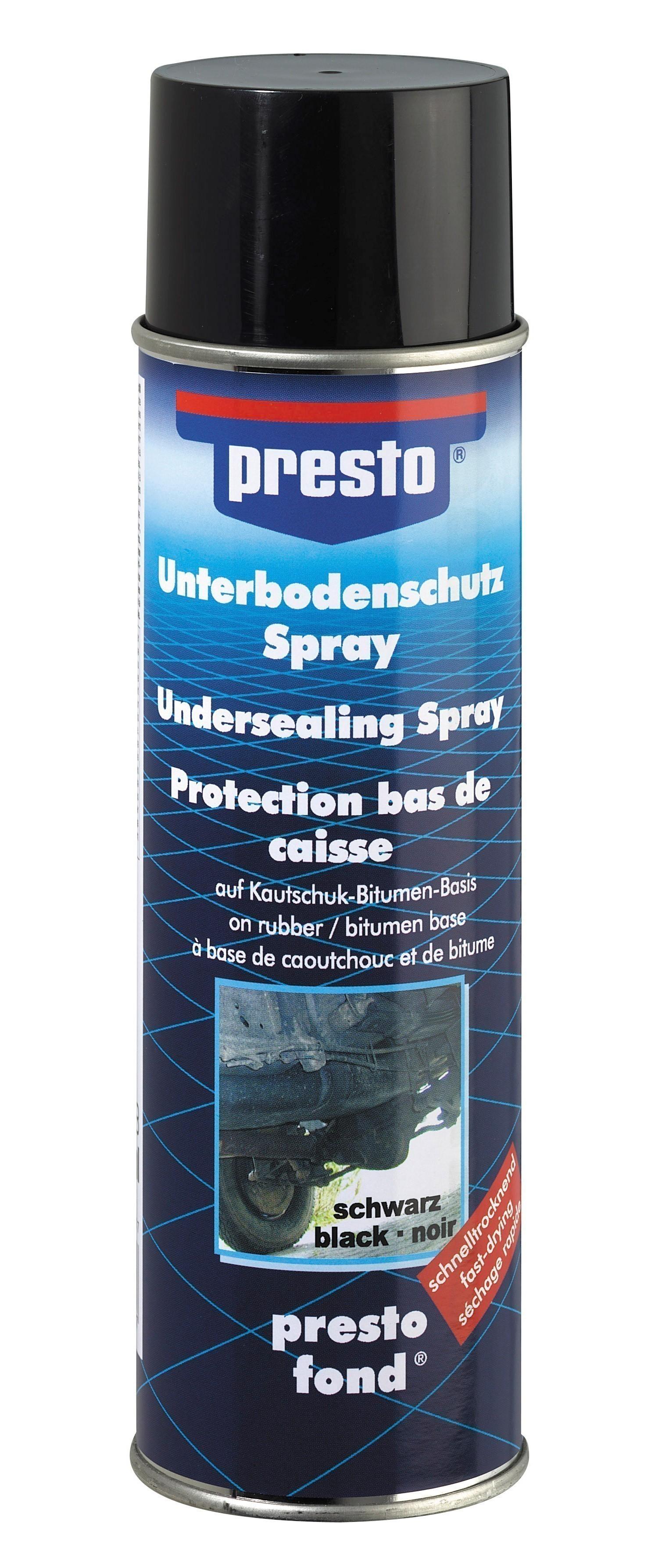 Presto Unterbodenschutz Bitumen Spray 500 ml Bild 1