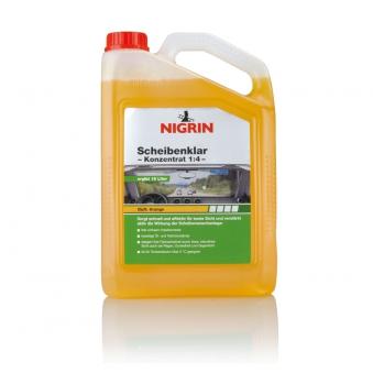 Nigrin Scheibenklar Konzentrat 1:4 Orange-Duft 3 Liter Bild 1