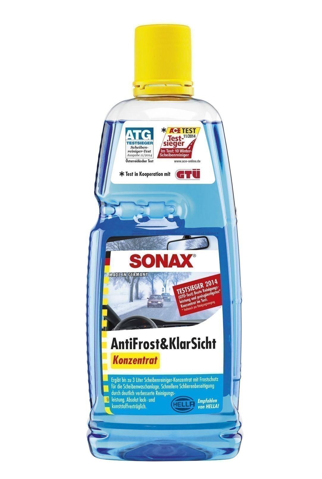 Sonax Anitfrost & Klarsicht Konzentrat mit Citrusduft 1000ml Bild 1
