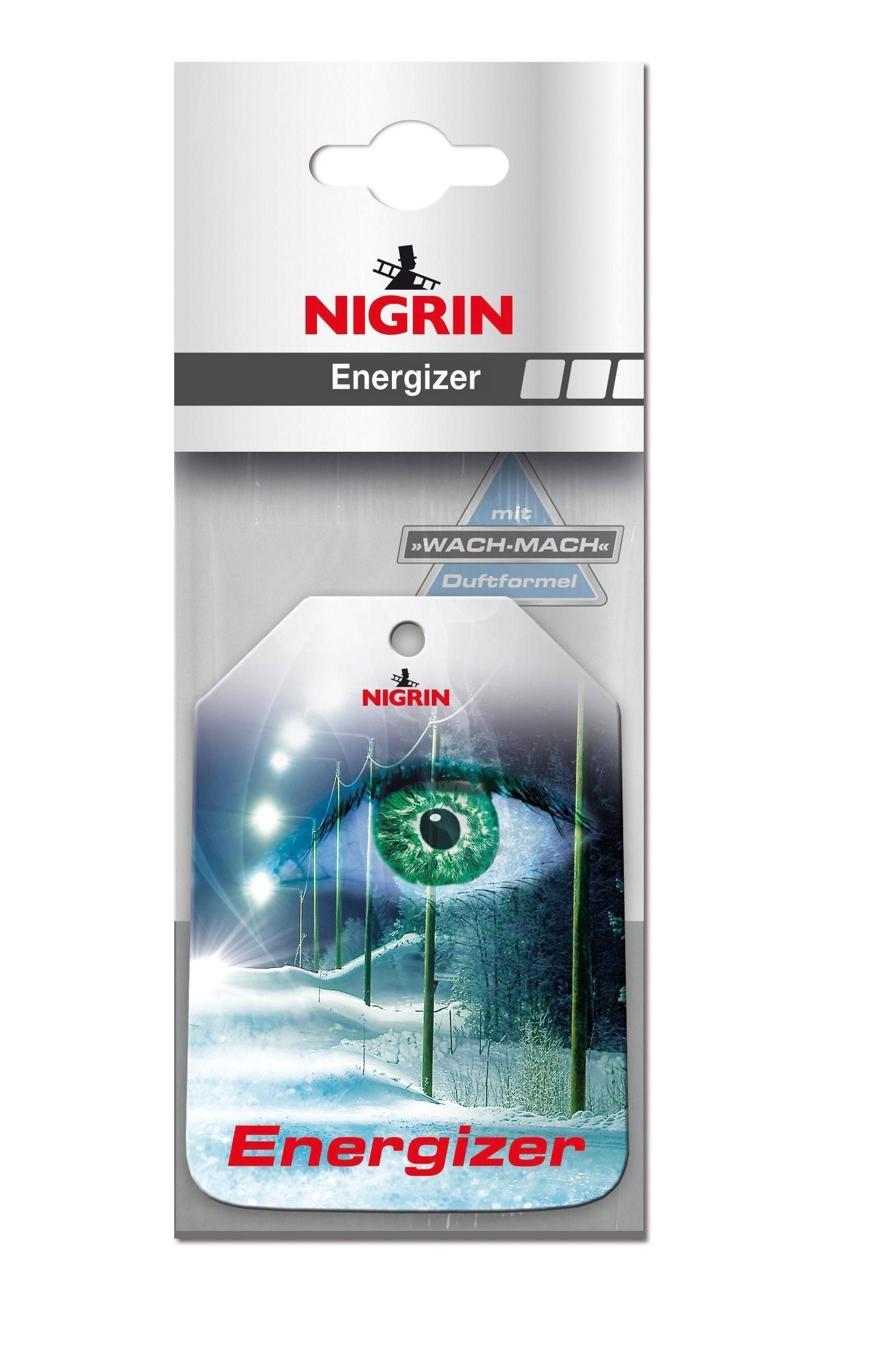 Nigrin Lufterfrischer / Duftbaum Winterduft Green Eye 1 Stück Bild 1