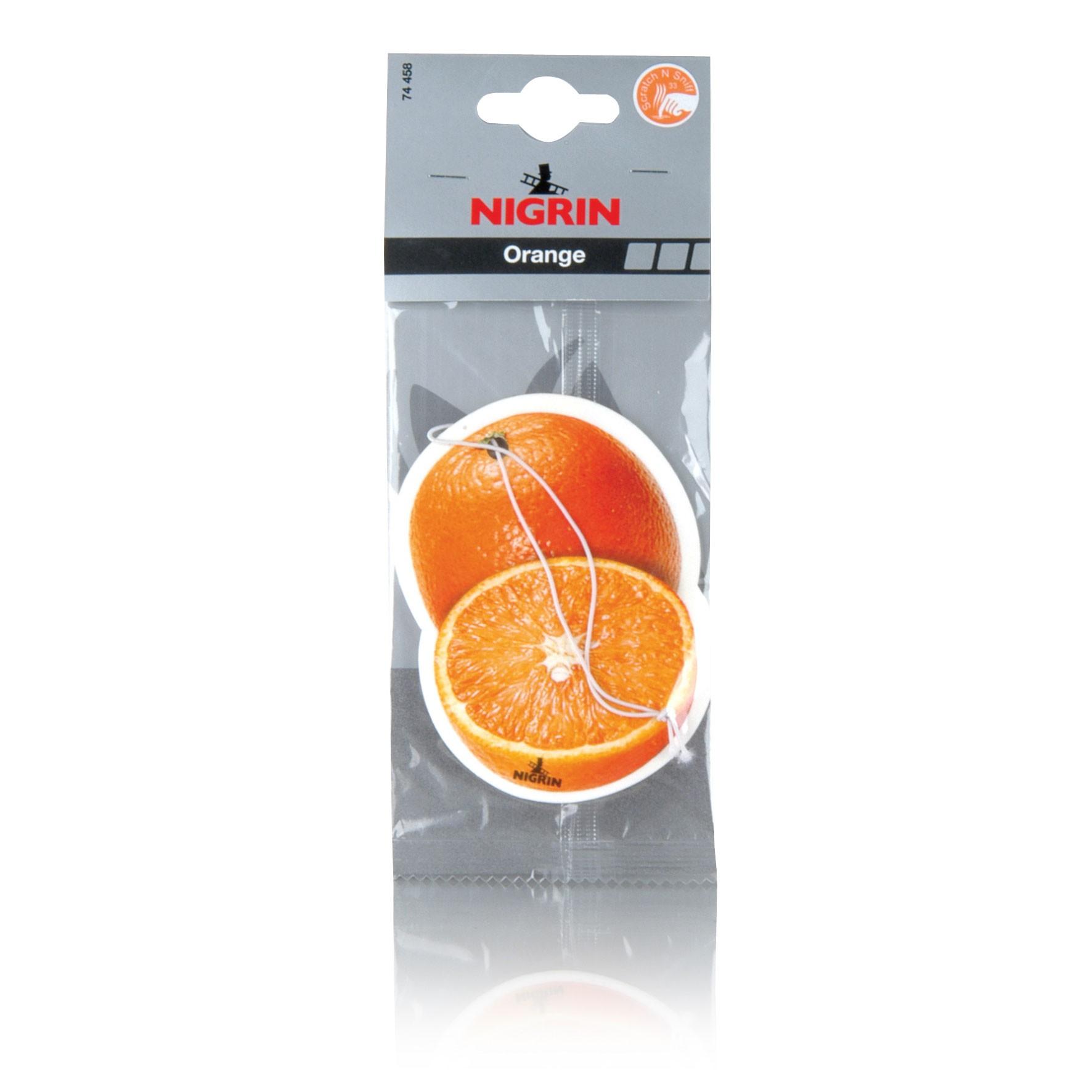 Nigrin Lufterfrischer / Frischer Duft  Orange 1 Stück Bild 1