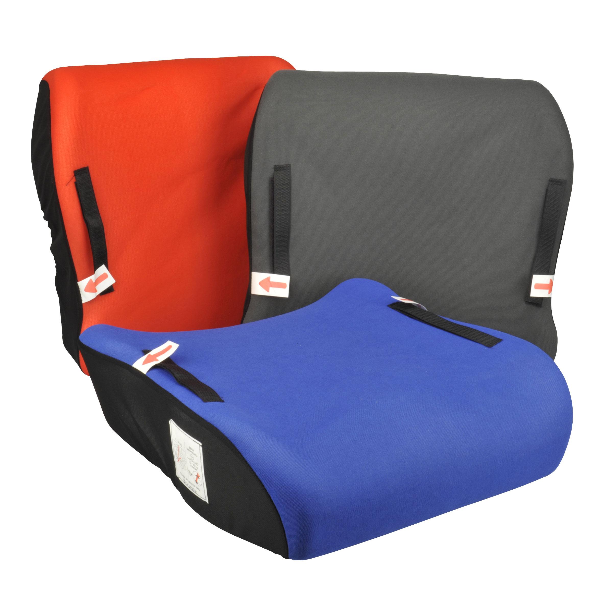 Unitec Kindersitzkissen Junior 4-12 Jahre / 15-36kg farbig sortiert Bild 1