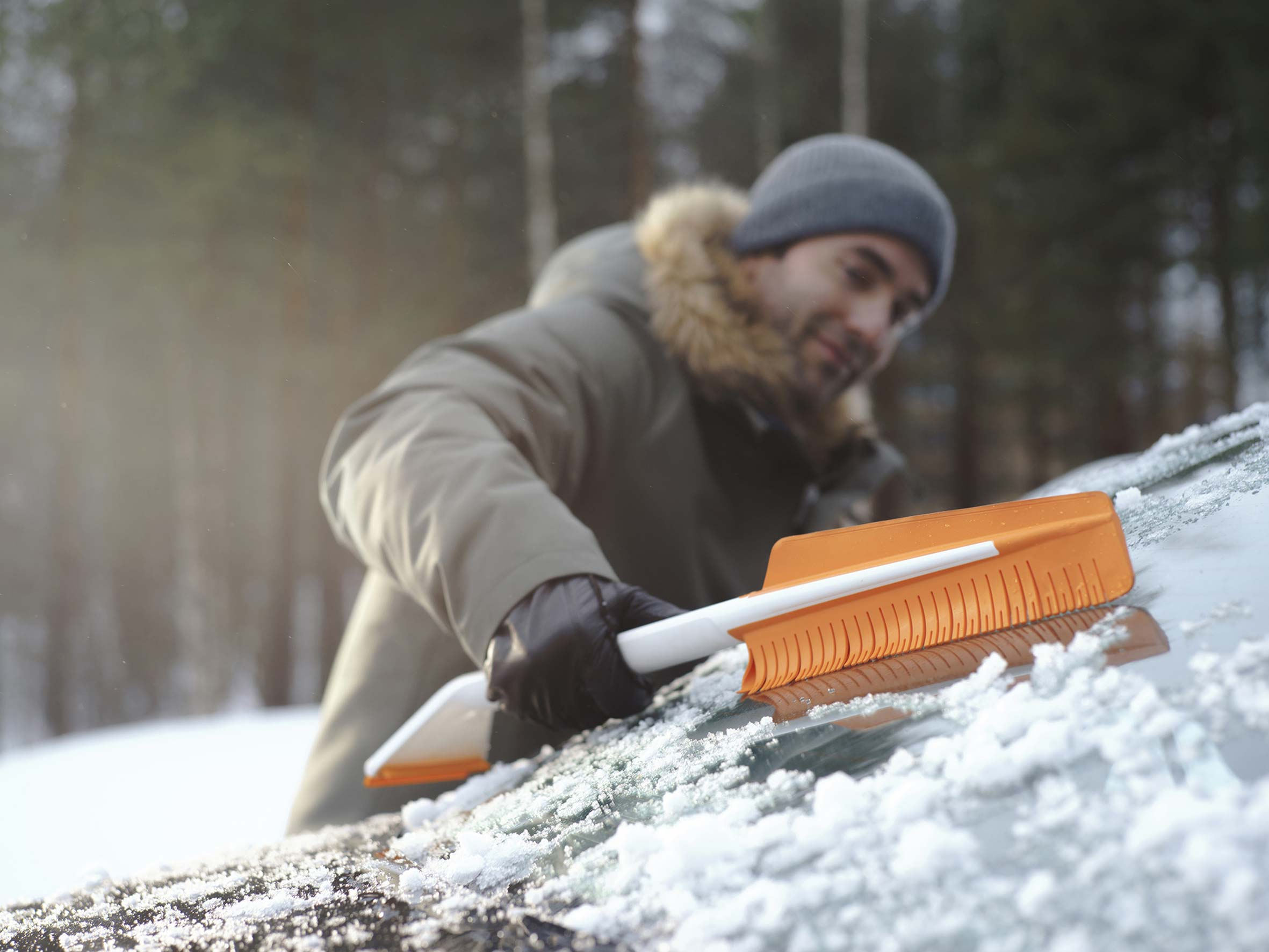 FISKARS Eisschaber / SnowXpert Eiskratzer & Schneebürste Bild 2