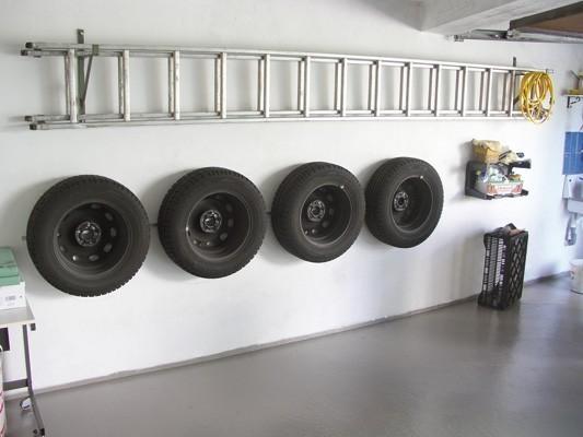 GAH Alberts Felgenhalter / Reifenhalter Wand 4Stück Bild 2
