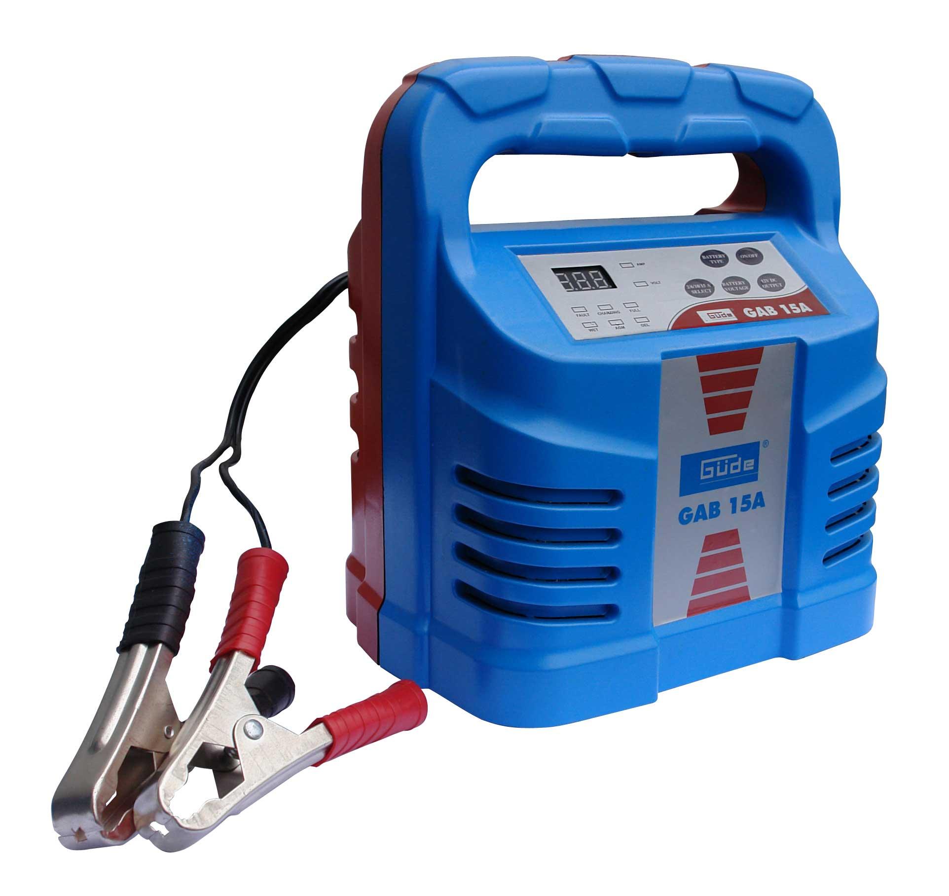 Automatik Batterielader GAB 15A Güde 280 Watt Bild 1