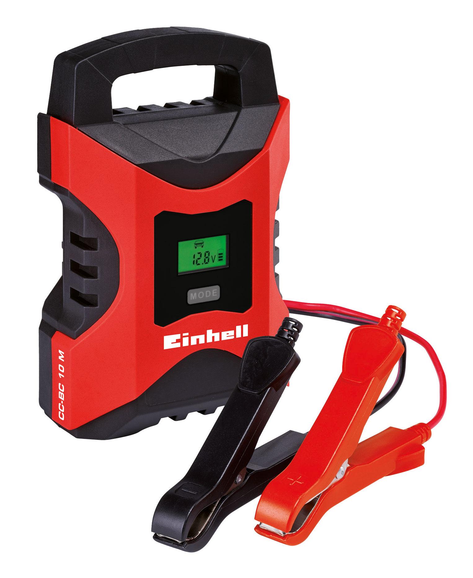 Batterieladegerät Einhell CC-BC 10 M 6 V/ 12V 3 - 200 Ah Bild 1