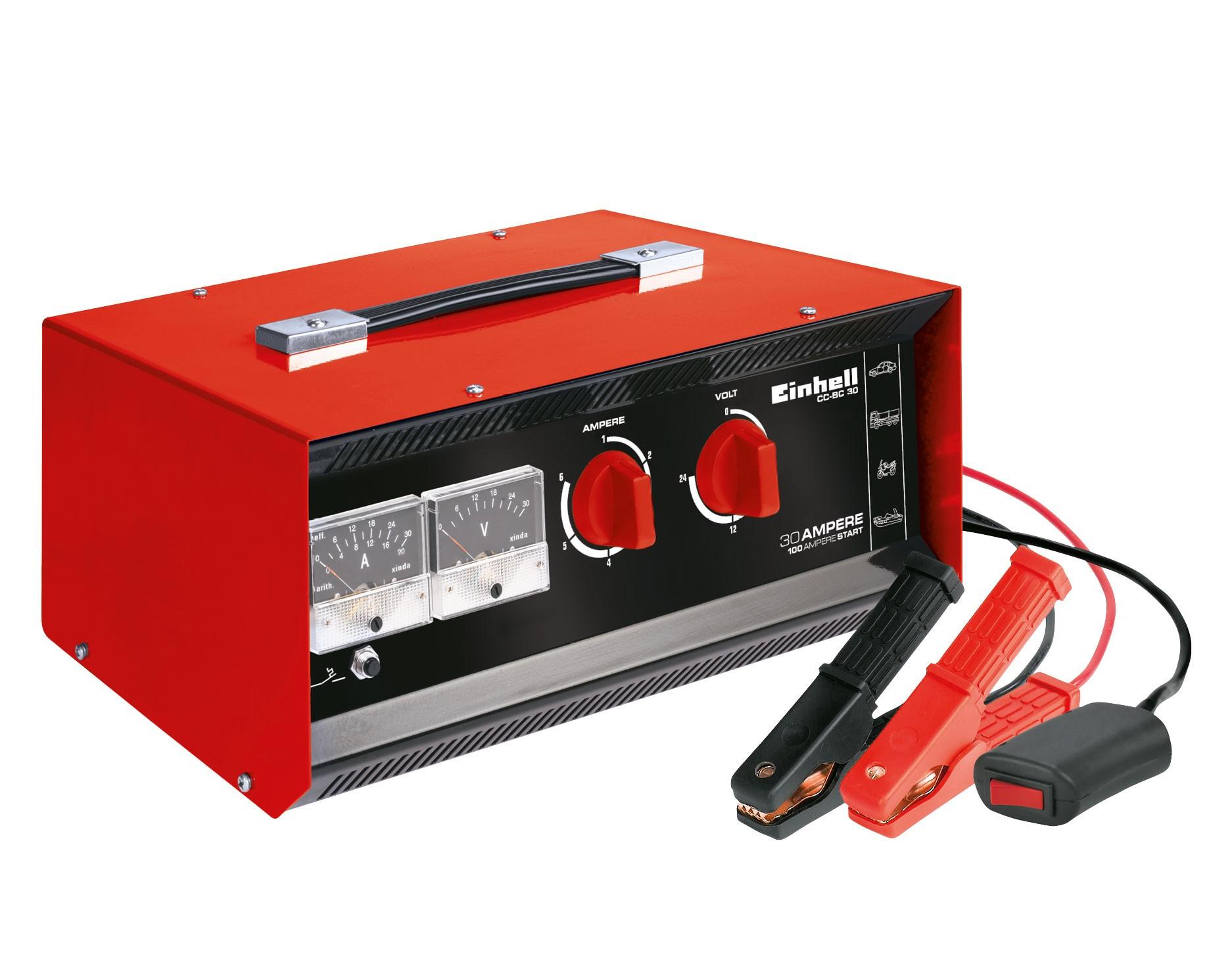 Batterieladegerät Einhell CC-BC 30 6 V/ 12V/ 24V 3-400 Ah Bild 1