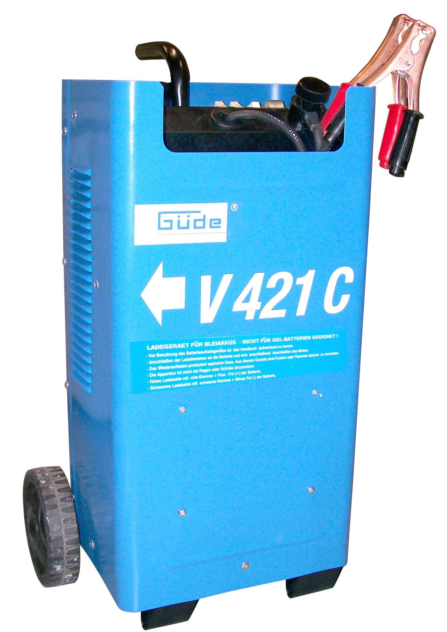 Batterielader V 421 C Güde fahrbar Bild 1