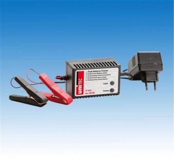 Unitec Batterietrainer für 12 V bis 120 Ah Bild 1