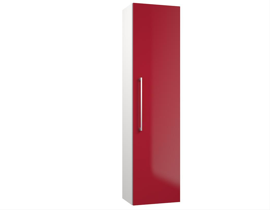 Bad Hochschrank Allegro 35 Rot glänzend Bild 1