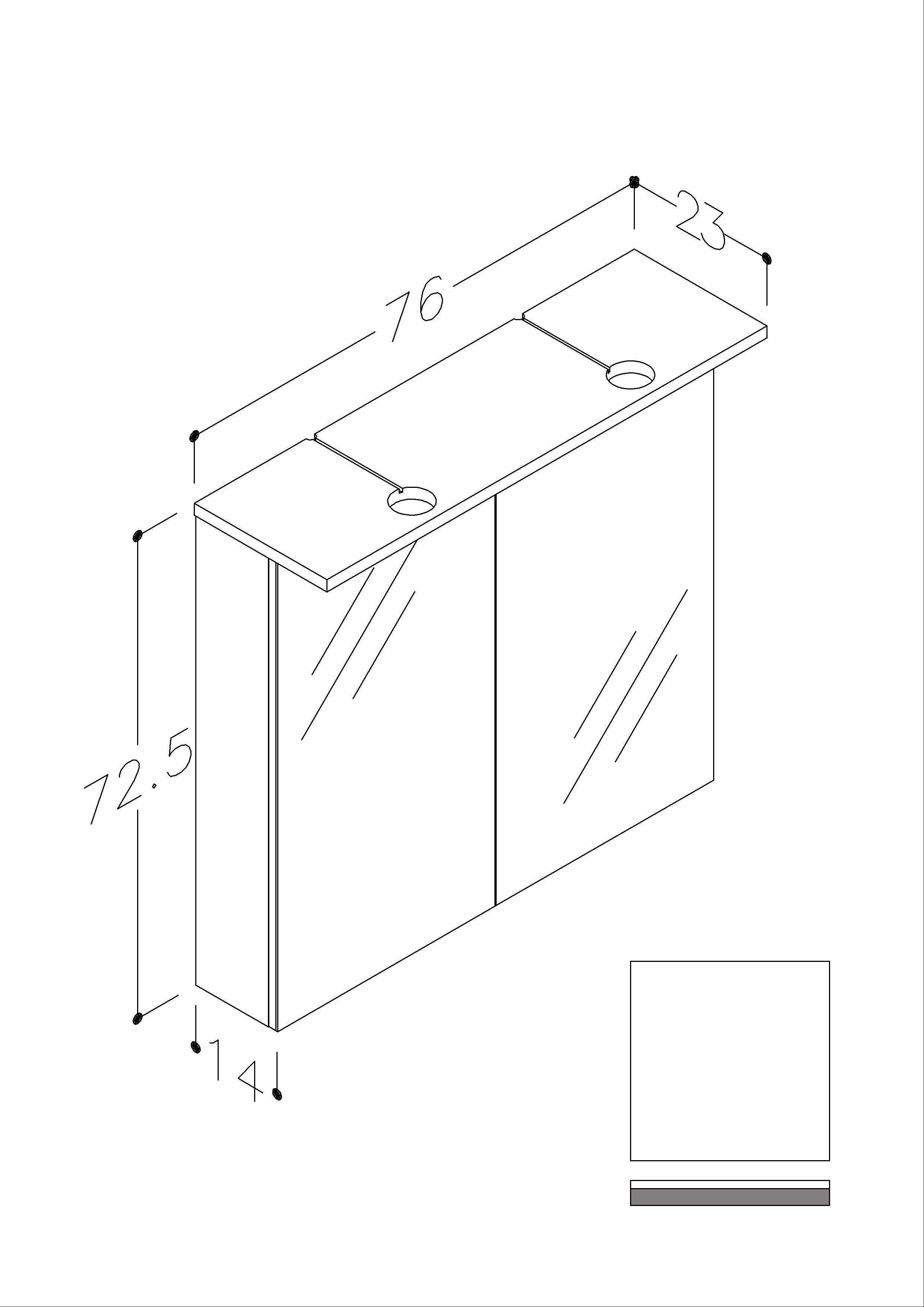 Bad LED Spiegelschrank Allegro 76 Weiß glänzend Bild 2